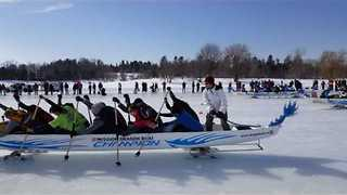 Ice Dragon Boat Race Is a Frozen Twist on a Classic Event - Video