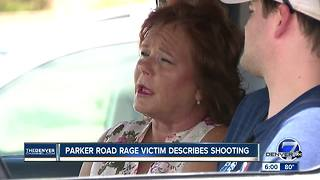 Parker road rage victim describes shooting - Video