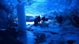 Inside the Amazing Mendenhall Glacier Ice Cave - Video