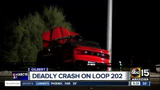 Driver killed in crash on L-202 Santan at Gilbert Road - Video
