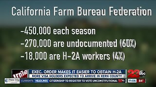 Trump immigration ban does not include agriculture workers
