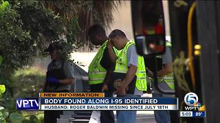 Body of man found on I-95 identified