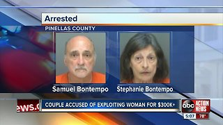 Pinellas couple allegedly exploited 97-year-old mother for more than $300k