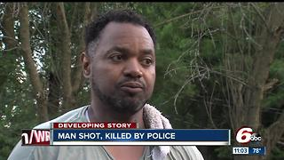 Man shot, killed by police - Video