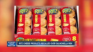 Ritz cheese products recalled over salmonella risk