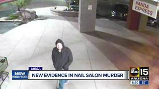 Police release new evidence in a nail salon murder unsolved - Video