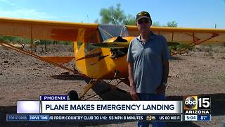 Pilot makes emergency landing near Anthem