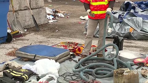 Hillsborough County Solid Waste Management says nearly a quarter of recycled items are trash