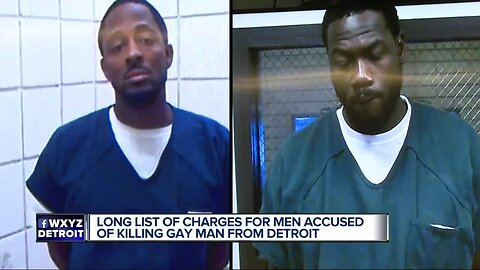 long list of charges for men accused of killing gay man from Detroit