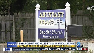 3-year-old hit and killed during church picnic