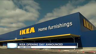 City of Oak Creek prepares for IKEA opening - Video