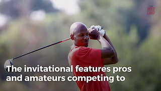 Ray Allen Sinks Incredible Golf Shot From 122 Yards Out - Video