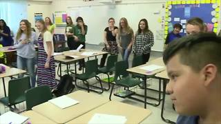 Allen Park Students learning to fight active shooters - Video
