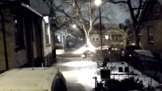 Surveillance video shows hit-and-run crash - Video