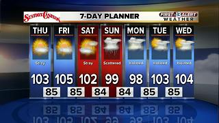 13 First Alert Las Vegas afternoon weather for July 26 - Video