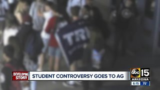 Valley students wearing MAGA gear stopped by school officials