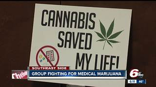 Group fights for medical marijuana in Indiana - Video