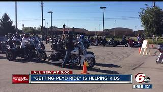 """Getting Peyd Ride"" is helping kids"