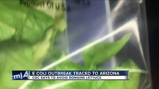 Romaine lettuce to blamed for E. coli outbreak in 11 states, CDC reports