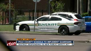 Polk County School Board votes to hire 90 armed School Safety Guardians - Video