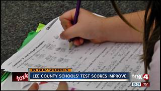 Students test scores improve - Video