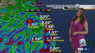 South Florida Latest Weather - August 3, 2019