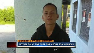 Mother of murdered 14-year-old Port Richey boy looking for answers - Video