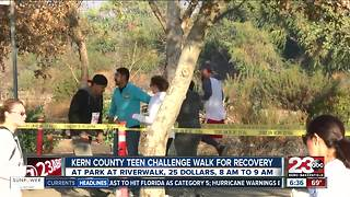 Kern County Teen Challenge Walk for Recovery - Video
