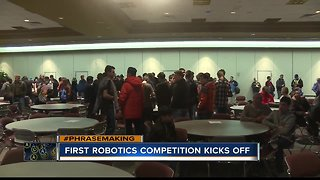 2019 'FIRST Robotics' Competition kicks off in Boise
