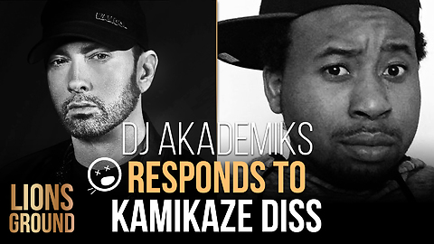 DJ Akademiks Responds To Eminem's Diss on Kamikaze