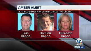 Amber Alert issued for missing 4-year-old Jupiter boy Dominic Caprio