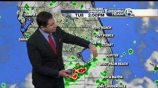 South Florida Tuesday morning forecast (7/4/17) - Video