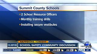 Summit Schools holding community meeting tonight on safety - Video