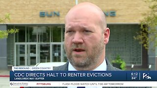 CDC directs halt to renter evictions
