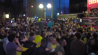 Safety preparations underway ahead of Michigan vs. Villanova in National Championship - Video