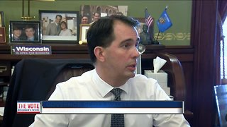 Gov. Walker speaks publicly for first time since the election