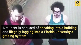 Florida Student Accused of Changing Grade from F to B - Video