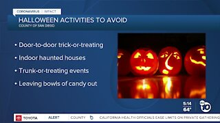 County issues guidelines for safe Halloween