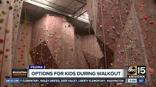 The options for kids during a teacher walkout this week - Video
