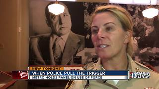 Las Vegas police discuss their use of deadly force policy