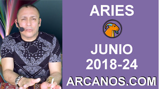 HOROSCOPO ARIES-Semana 2018-24-Del 10 al 16 de junio de 2018-ARCANOS.COM - Video