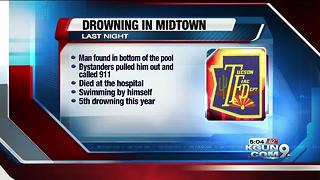 Tucson Fire reports a 30-year-old man drowned in a pool on the east side - Video