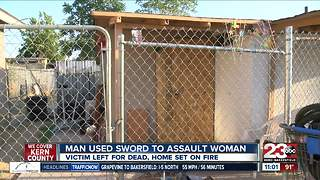 Man used sword to torture and assault woman - Video