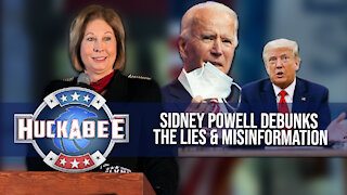 EXCLUSIVE: Sidney Powell Suspects CIA In RIGGING Elections   Huckabee