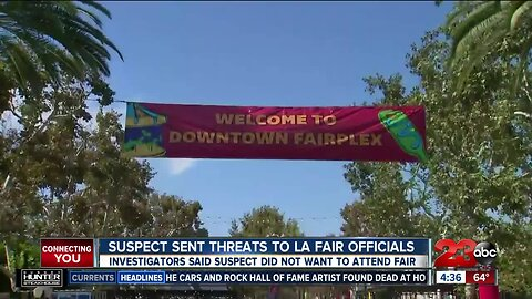 Suspect arrested making threats to Los Angeles County Fair in Pomona