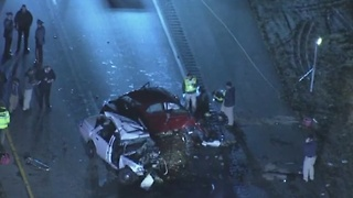 State Trooper dies after crash in New Jersey - Video