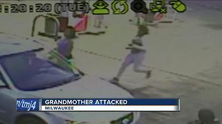 Grandmother attacked at north side gas station - Video