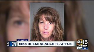 Young girls stab alleged home invader in N. PHX - Video