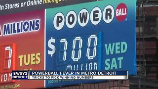 Powerball fever hits metro Detroit - Video