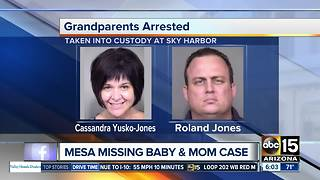 Father of missing mom and baby appears before judge on Thursday - Video